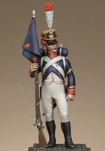 Vitrine Alain 2 mise en peinture sculpture Grenadier en surtout  1807  MM54mm - Page 9 Tggi0_10