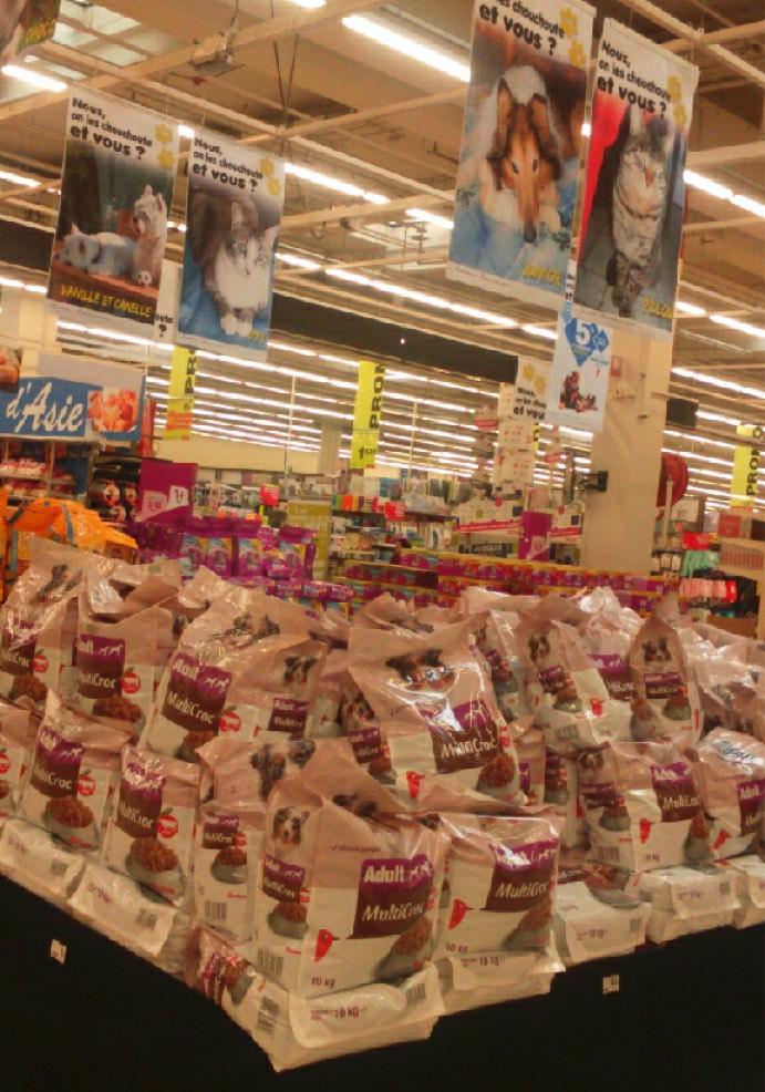 Opération caddies Auchan La Couronne les 29 et 30 janvier 2016 Auchan10