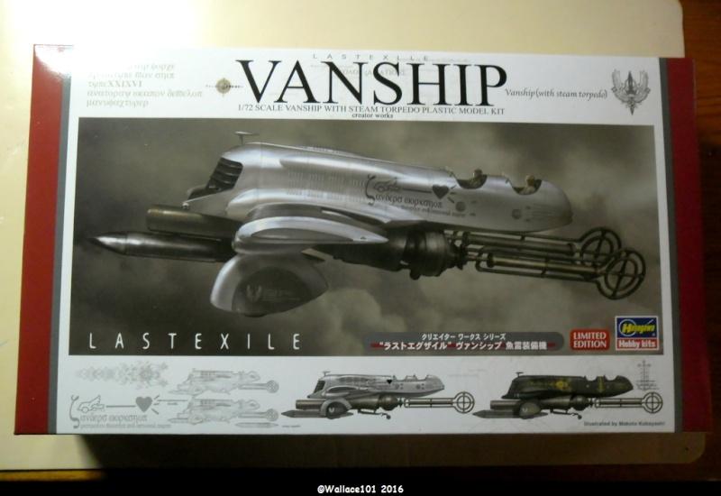 "Vanship with steam torpedo Hasegawa 1/72 Assemblage ""à blanc"" terminé Sam_1613"