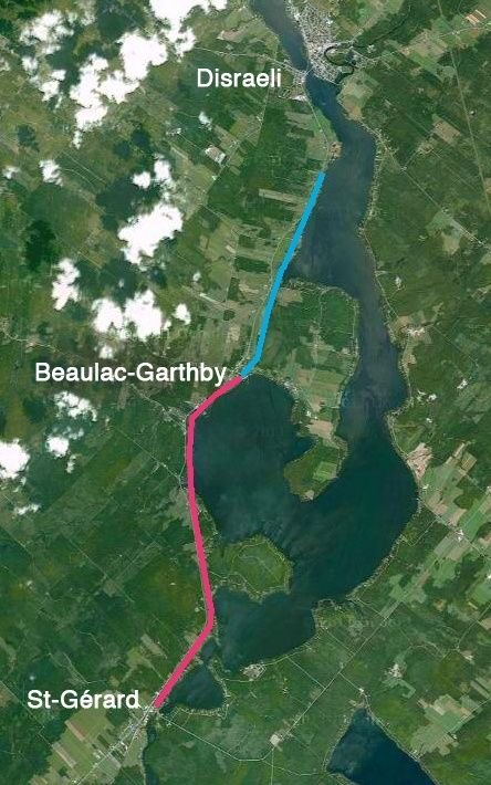 Les vélorails de Beaulac-Garthby Carte_10