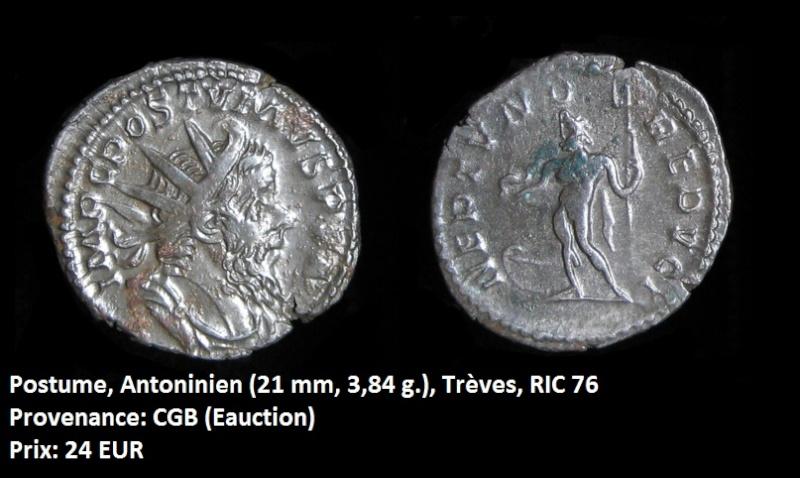 Vente de quelques monnaies Postum12