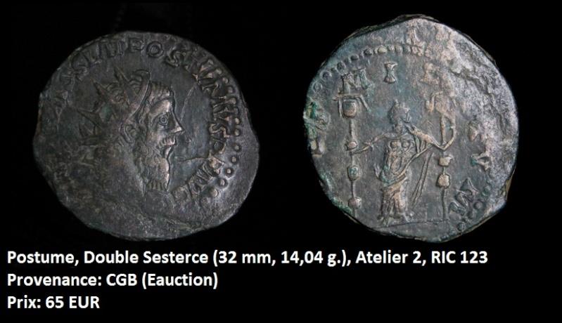 Vente de quelques monnaies Postum14