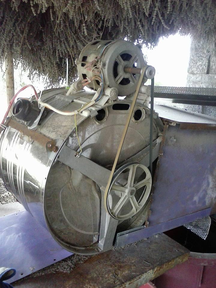 Stroj za čišćenje cvijeta lavande Bubanj10