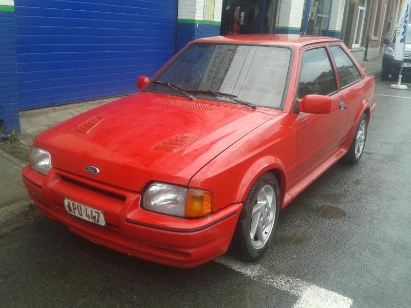 ford escort rs turbo 1988 Belgique 20150710
