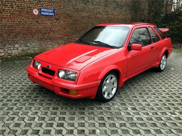 ford escort rs turbo 1988 Belgique Sierra10