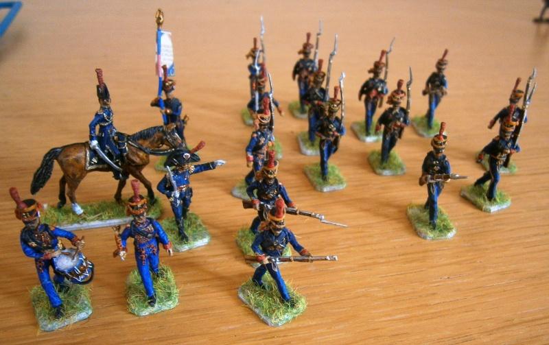 Nouvelle livraison : Les Marins de la Garde,l'infanterie en manteau et Murat . P3230011