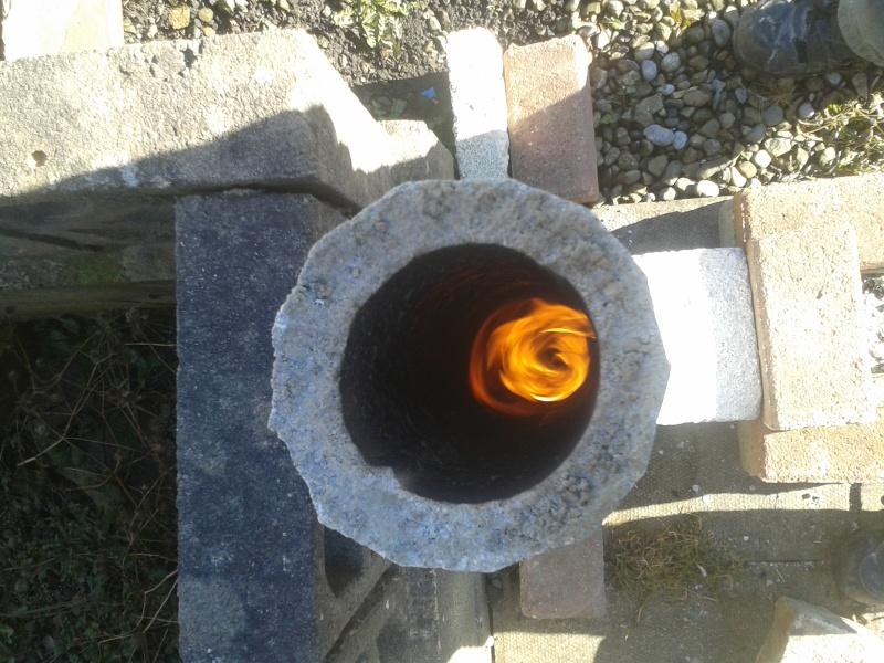 new rocket stove build 20160229