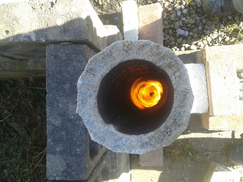 new rocket stove build 20160230