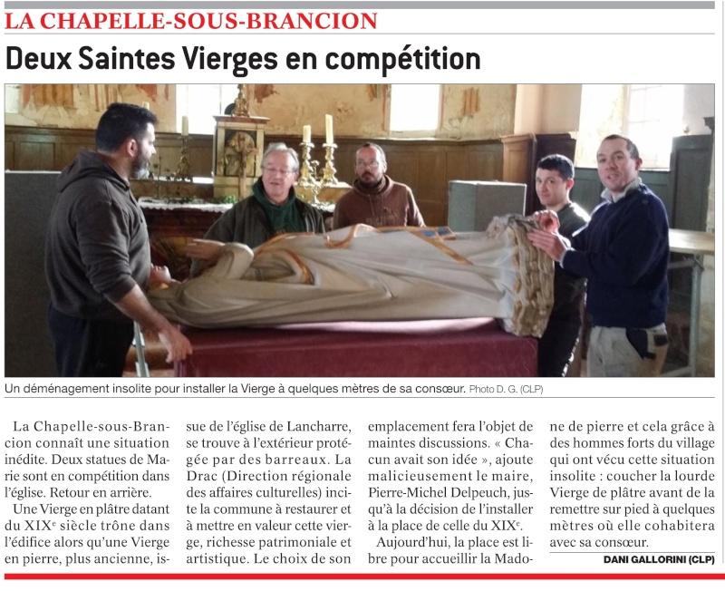 LA CHAPELLE-SOUS-BRANCION Deux Saintes Vierges en compétition   Viyrge10