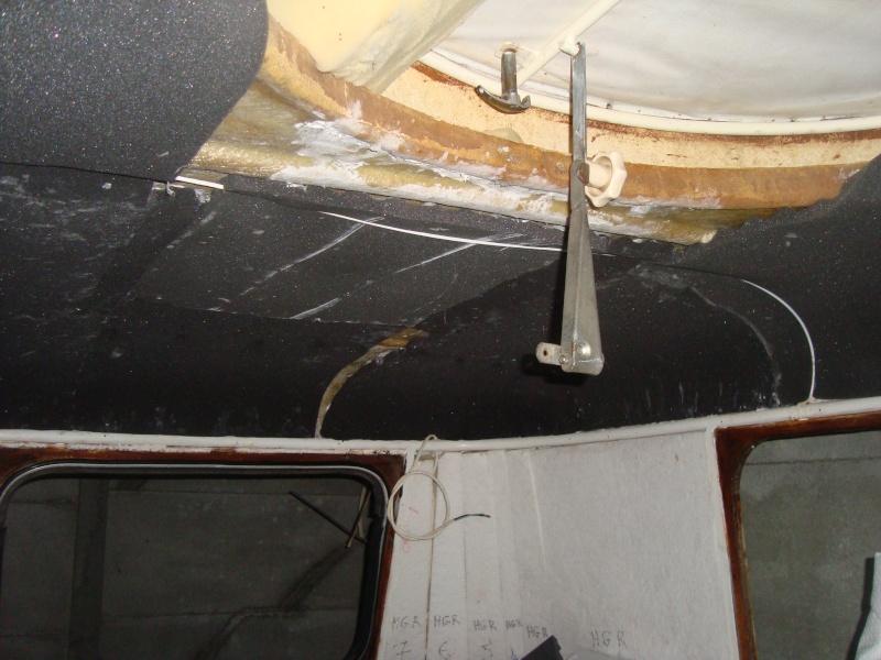 isolation du plafond dr ma puck 65 Dsc07017