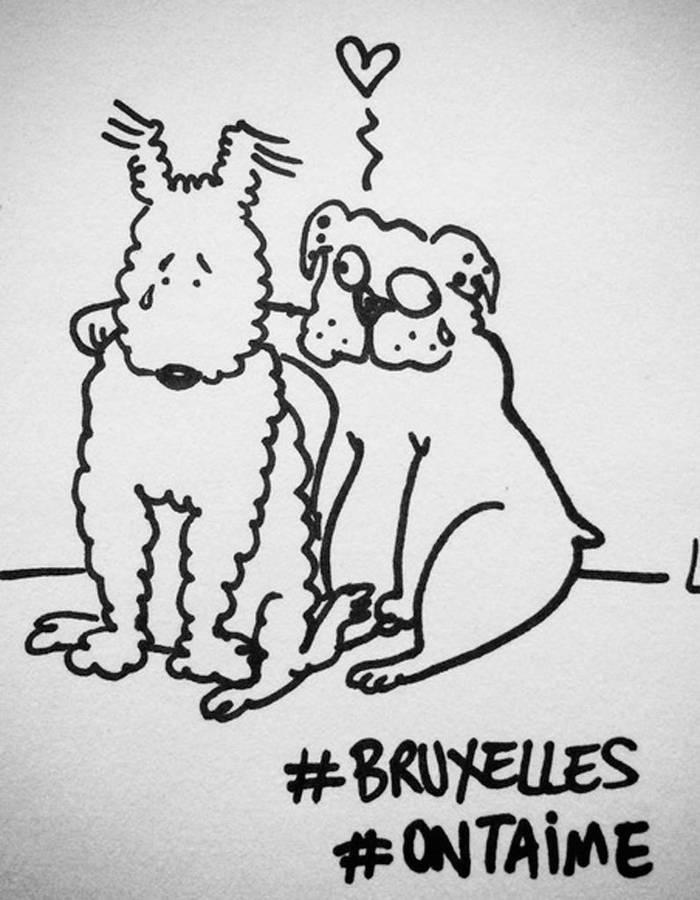 Nos amis Bruxellois [22/03/2016) dans la peine... Attent10