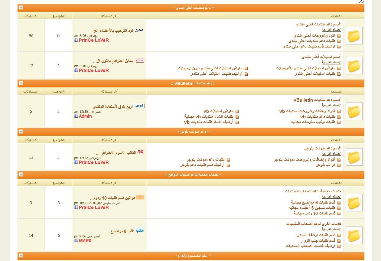 انطلاق منتديات الدعم العربى لخدمات الدعم الفنى وتطوير المواقع 16550010