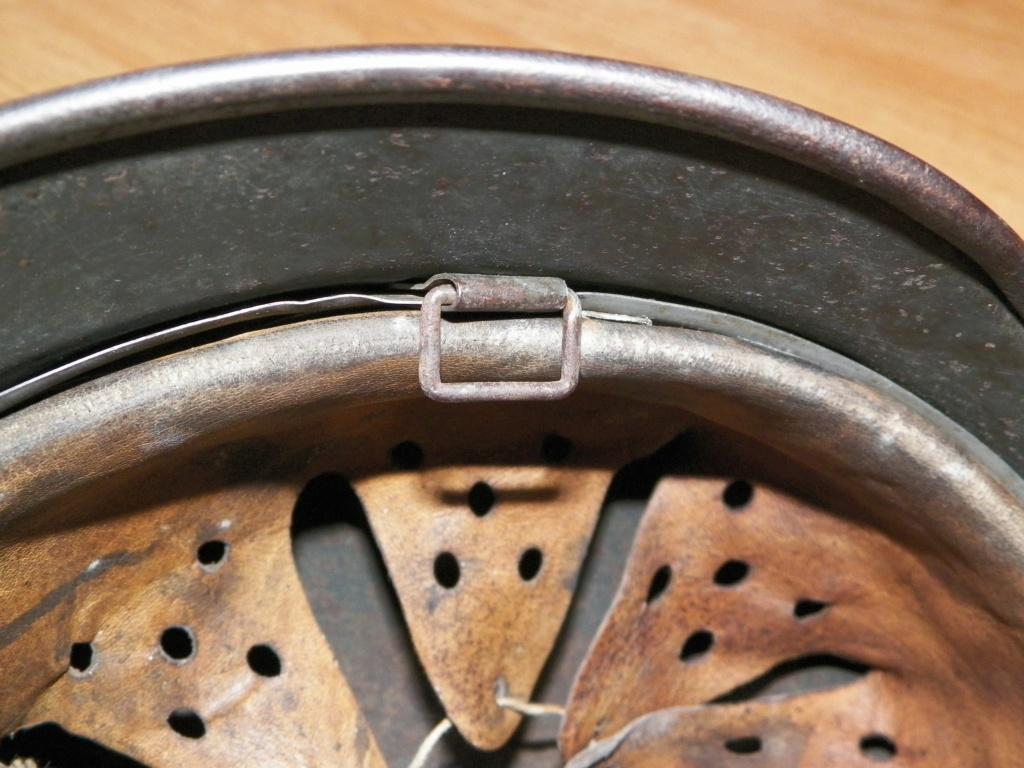 pour authentification casque waffen modèle 40 1711