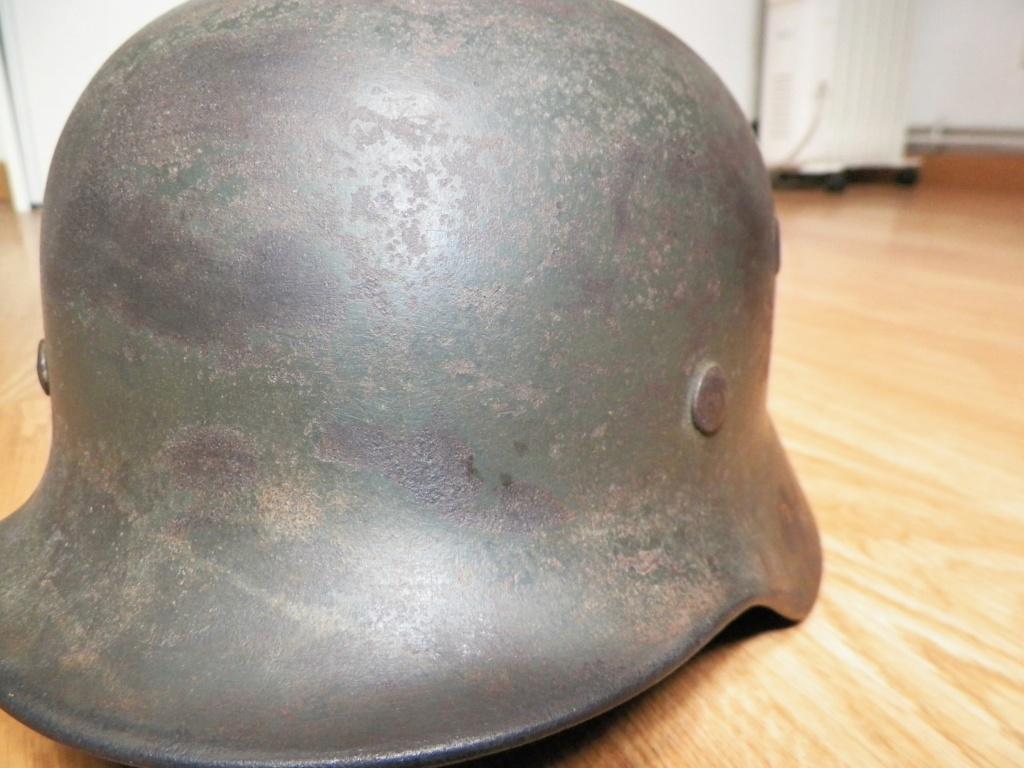 pour authentification casque waffen modèle 40 1911