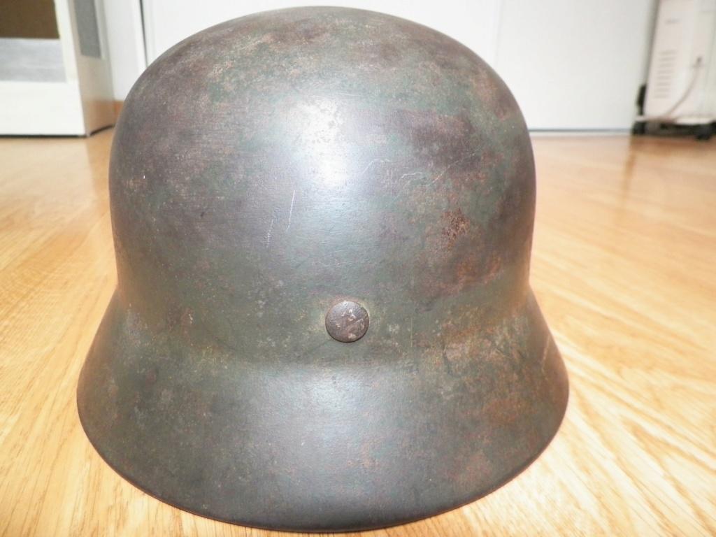 pour authentification casque waffen modèle 40 2110