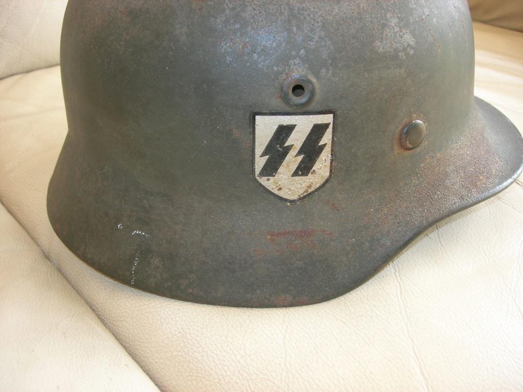 un casque waffen modele 35 213