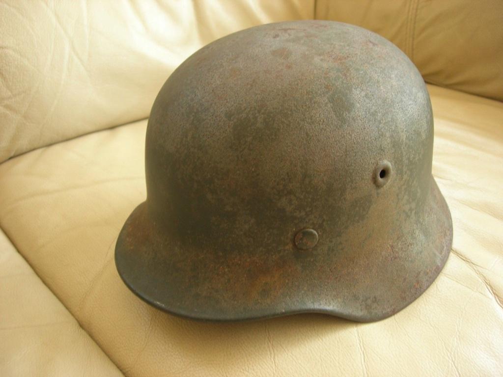 un casque waffen modele 35 313
