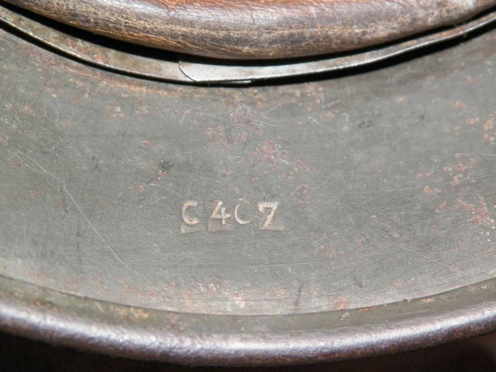 pour authentification casque waffen modèle 40 618