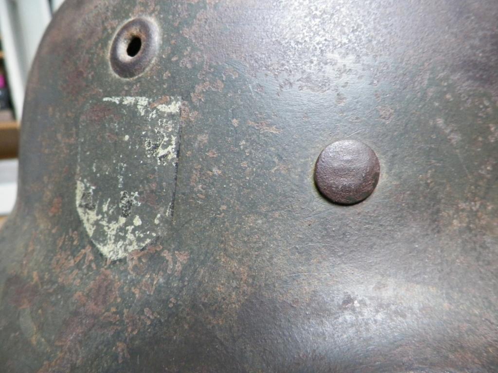 pour authentification casque waffen modèle 40 815