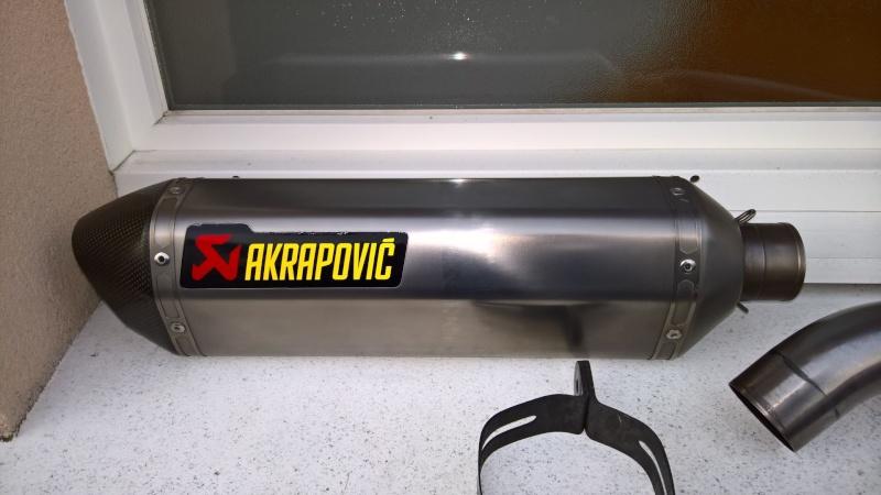 Echappement Akrapovic Honda CB1000R Titane Wp_20111
