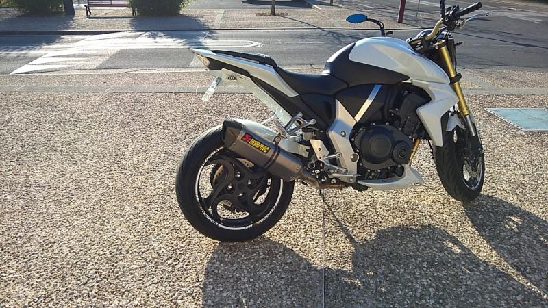 Echappement Akrapovic Honda CB1000R Titane Wp_20112