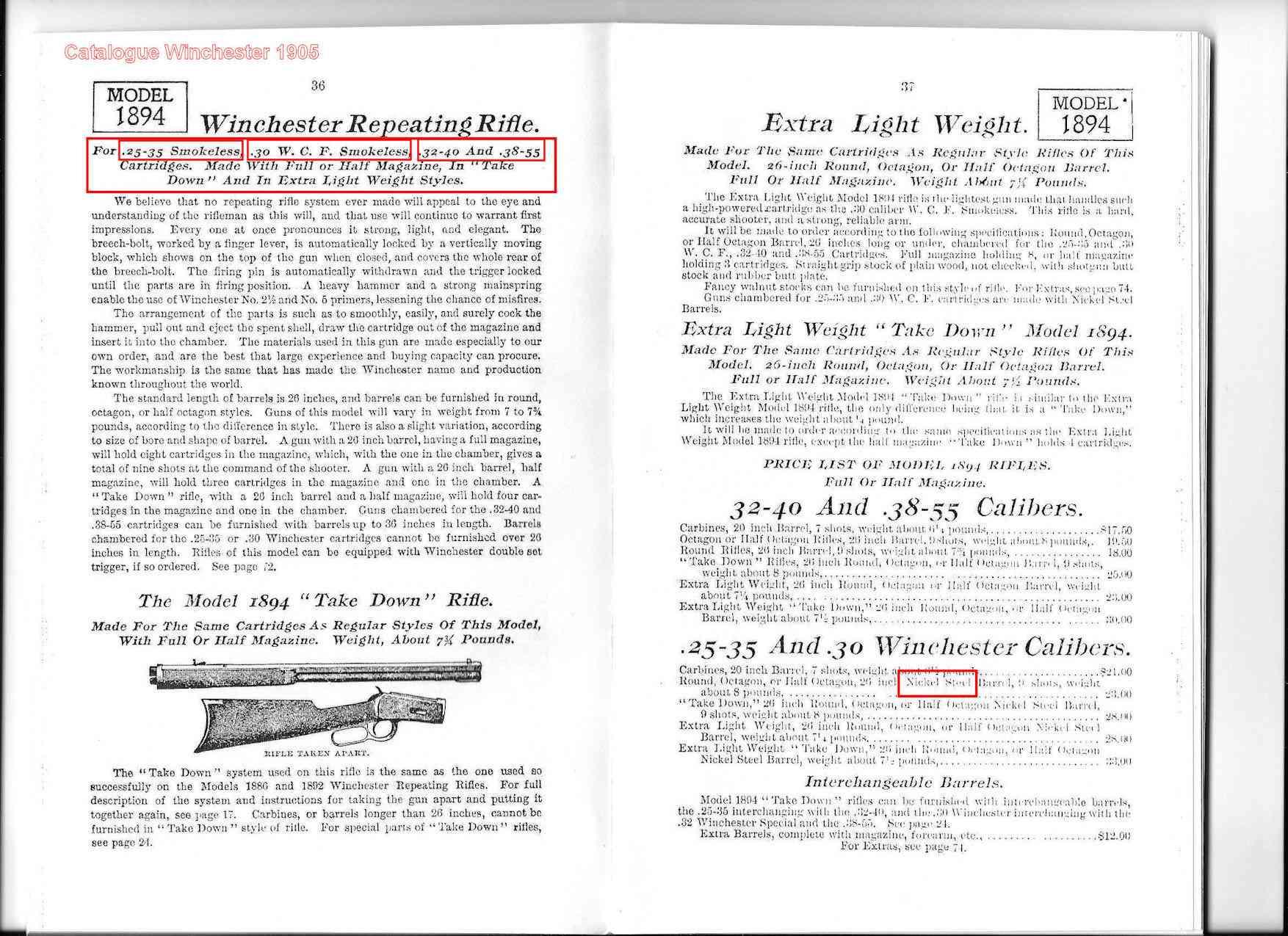 """Marquage """"trefle"""" sur Winchester 94 et question sur usage PSF? 21_sca11"""