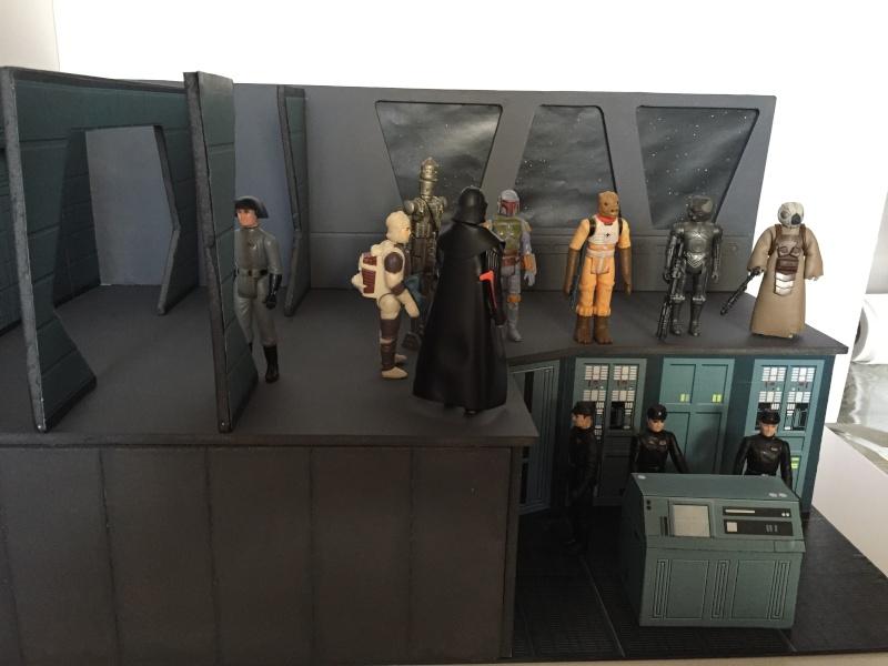 Scène de chasseur de primes passerelle de l'Executor star wars Img_7222