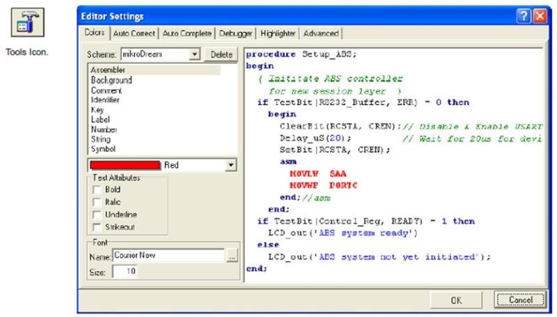 """مع المترجم """"ميكروباسكال"""" mikroPASCAL الذى يجعل برمجة الميكروكونترولر PIC أكثر سهولة : 214"""