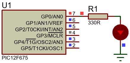 برمجة العائلة PIC12F6XX والمترجم ميكروسى يرو  : 219