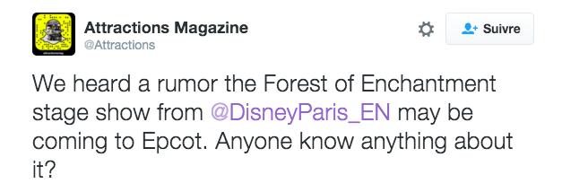 La Forêt de l'Enchantement : Une Aventure Musicale Disney [Frontierland - 2016-2017] - Page 15 Captur10