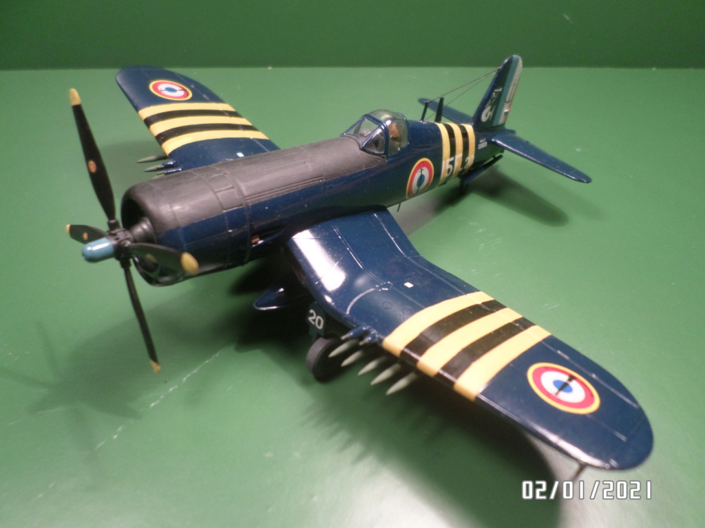 [ ITALERI ]  Chance Vough  F4U-7   Corsair  Sam_3110