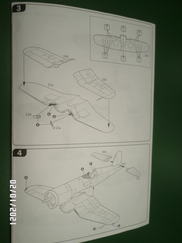 [ ITALERI ]  Chance Vough  F4U-7   Corsair  Sam_3114