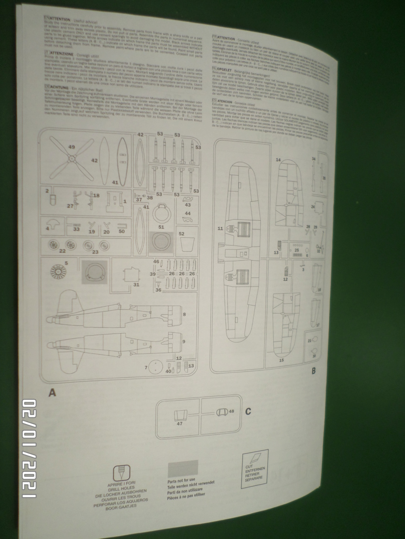 [ ITALERI ]  Chance Vough  F4U-7   Corsair  Sam_3115