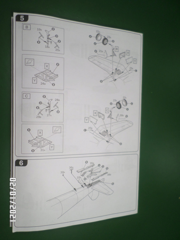 [ ITALERI ]  Chance Vough  F4U-7   Corsair  Sam_3118