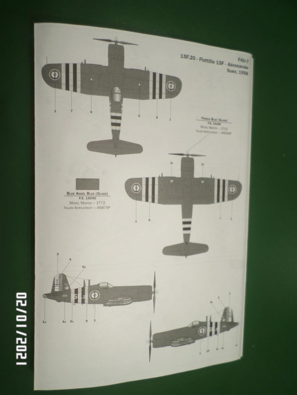 [ ITALERI ]  Chance Vough  F4U-7   Corsair  Sam_3120