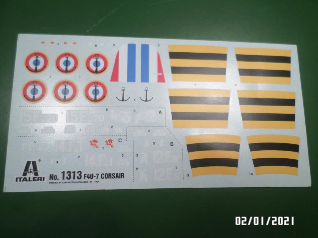 [ ITALERI ]  Chance Vough  F4U-7   Corsair  Sam_3122