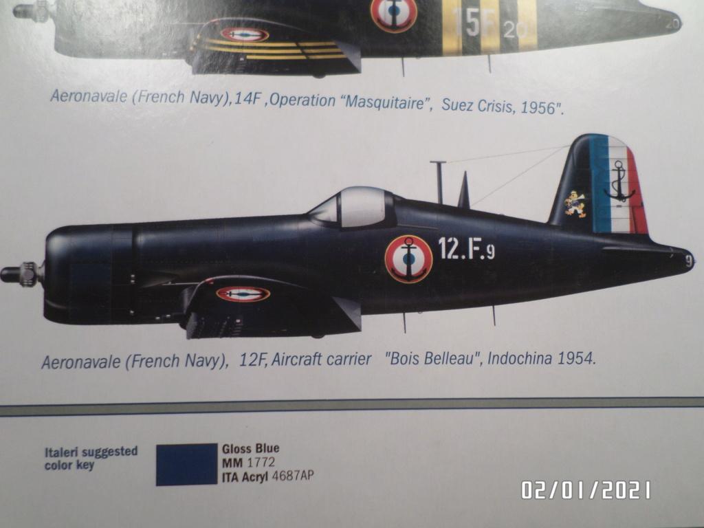 [ ITALERI ]  Chance Vough  F4U-7   Corsair  Sam_3123