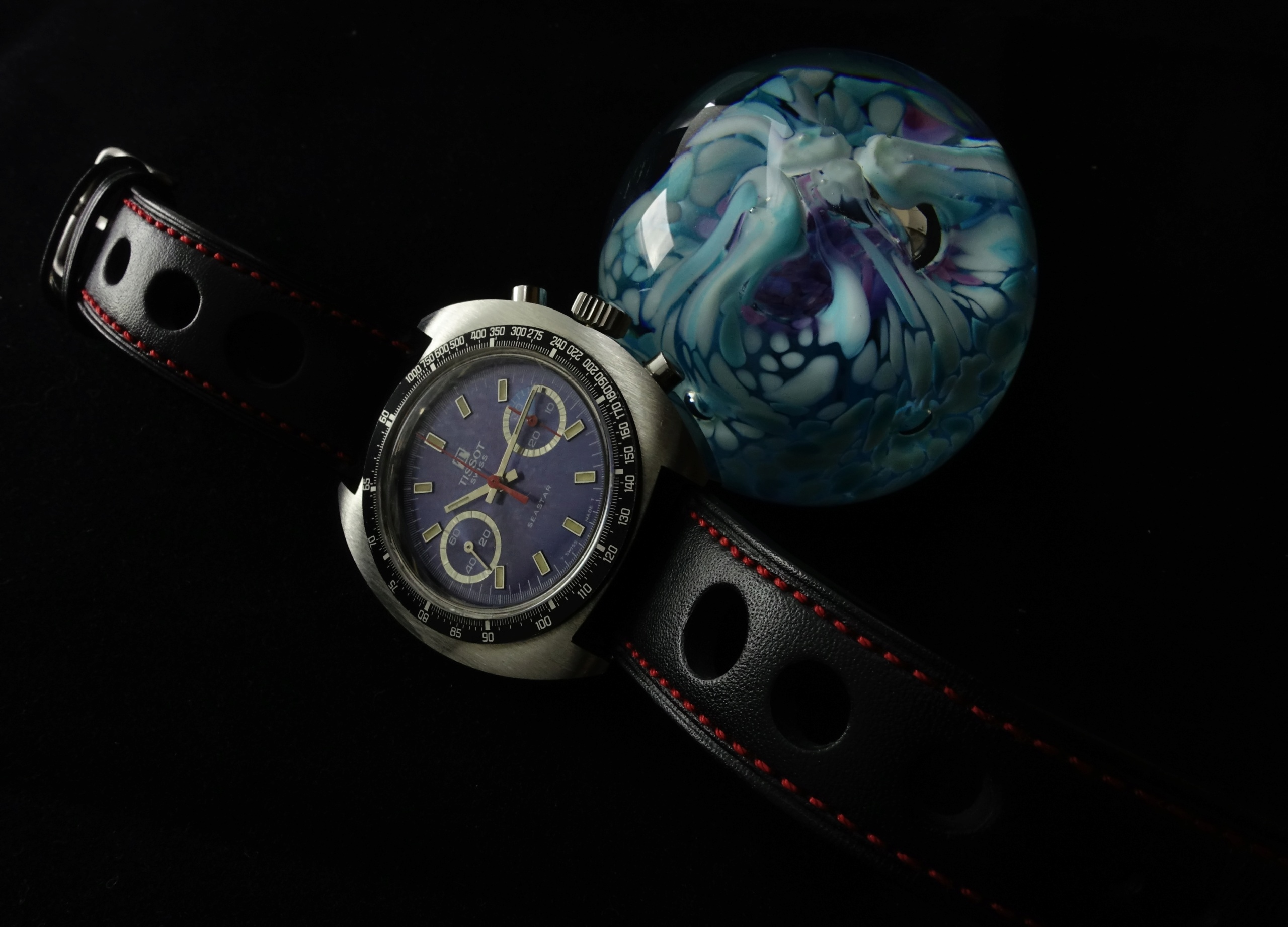Feu de vos montres sur bracelet rallye Chrono15
