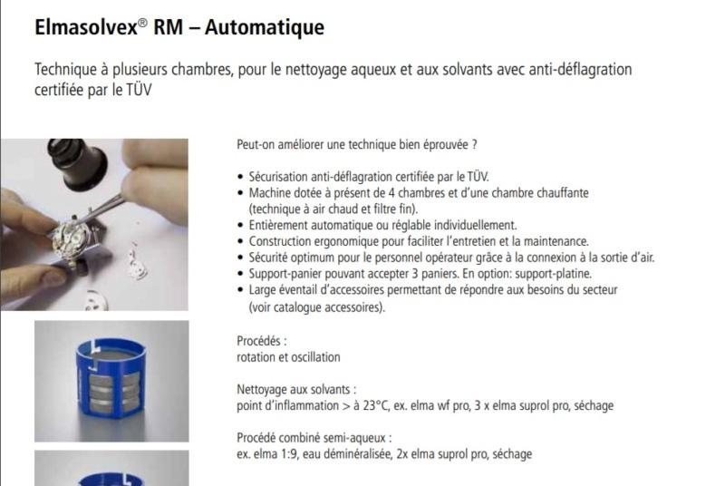 Informations techniques sur nettoyeur ultrason SVP - Page 3 Elma10