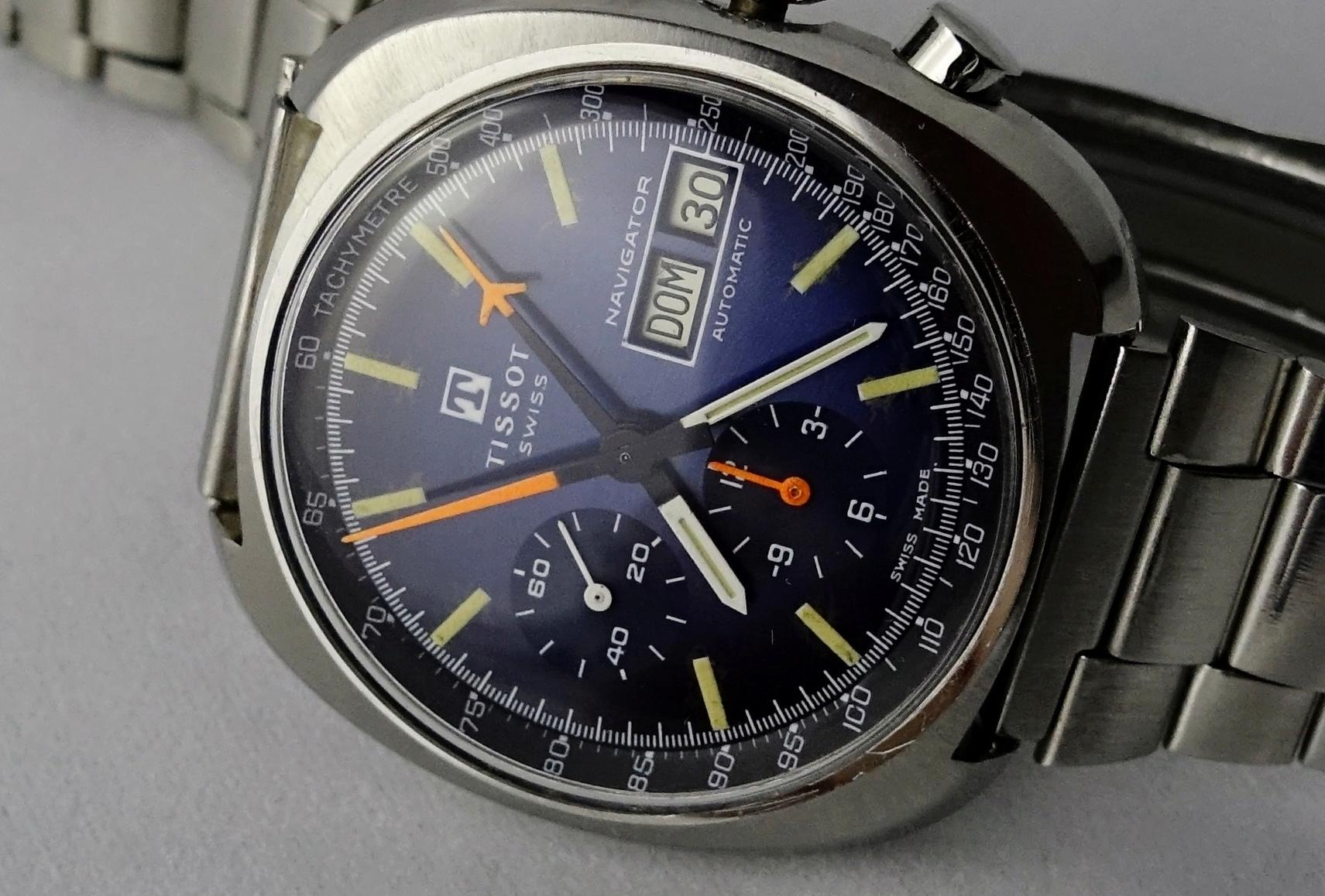 Tissot - TISSOT NAVIGATOR YACHTING 1972 Naviga17