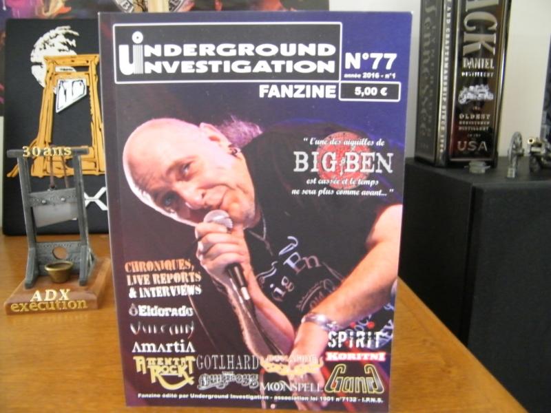 Le fanzine UNDERGROUND INVESTIGATION Dscf4225