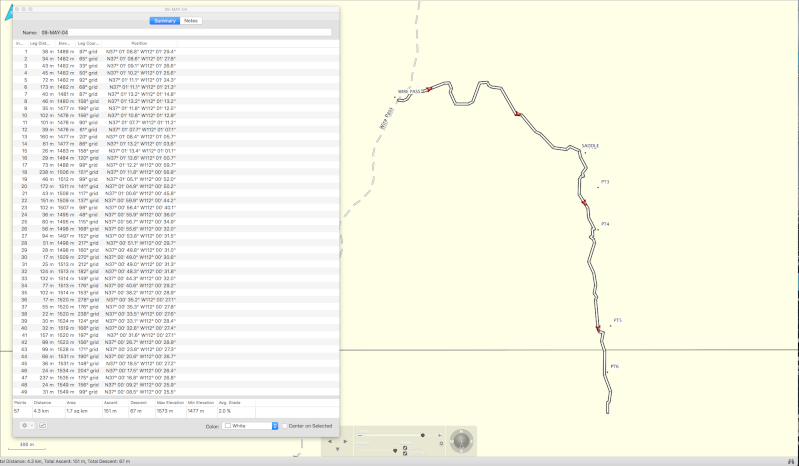 Horodatage trace mémoire GPS Etrex Vista Hcx Screen12