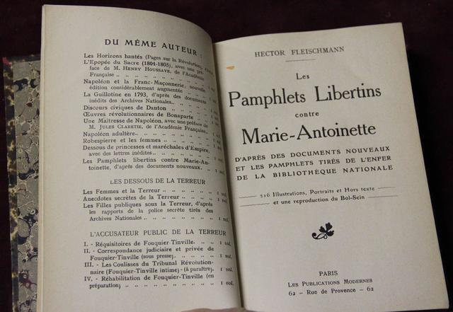 A vendre: livres sur Marie-Antoinette, ses proches et la Révolution - Page 4 16301810