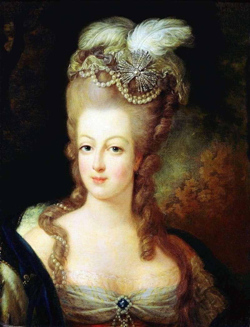 Cheveux de Marie-Antoinette Ca_17710