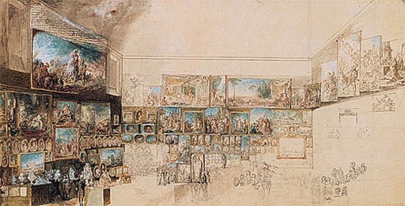 Le Salon du Louvre de 1787 Temple11