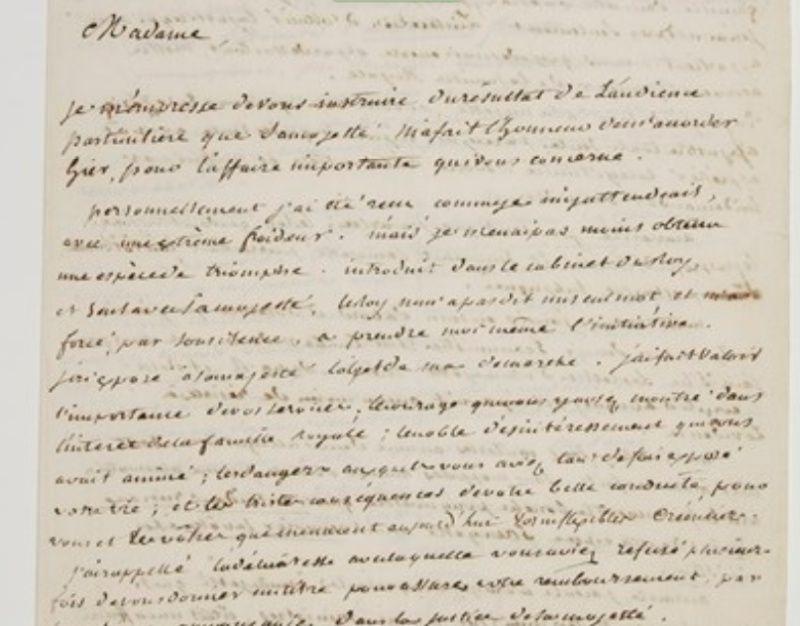 Correspondance de Charlotte Atkyns (Atkins) Zrauco11