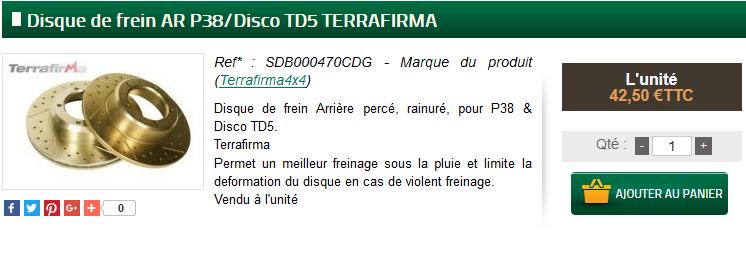 disques av et ar Freins10