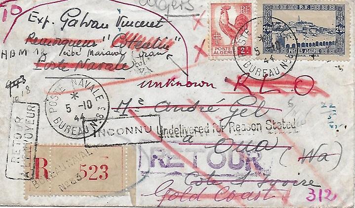 N°83 - Bureau Naval d'Oran 8310