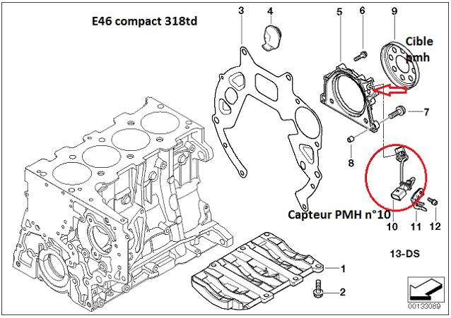 [ bmw E46 318D compact an 2003 ] problème de démarrage à chaud 11_m4711