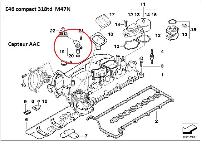 [ bmw E46 318D compact an 2003 ] problème de démarrage à chaud 13_31811